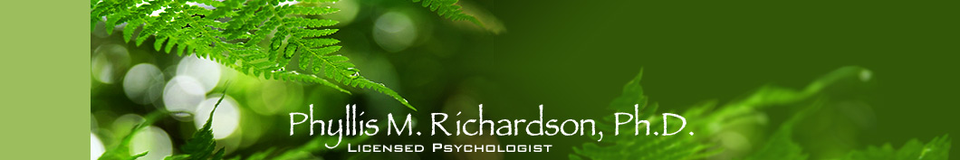 Phyllis M. Richardson, Ph.D., Licensed Psychologist